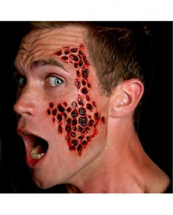 3D FX Transfer Tattoo Wunde Tripophobie
