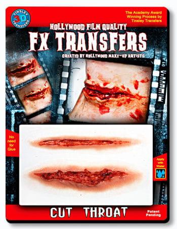 3D FX Transfer Tattoo laryngeal section