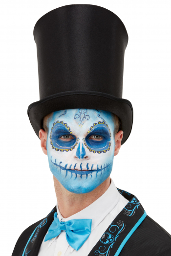 Day Of The Dead FX Make Up Set Blue