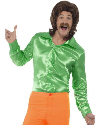 Grünes 60s Disco Hemd