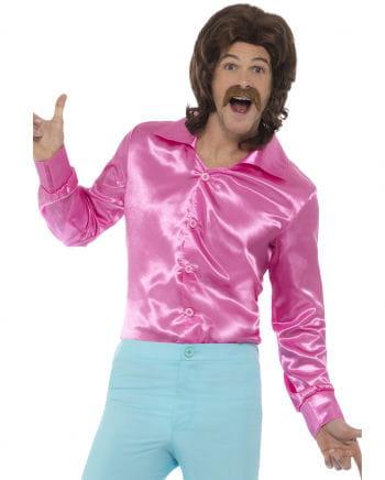 Pinkes 60s Disco Hemd