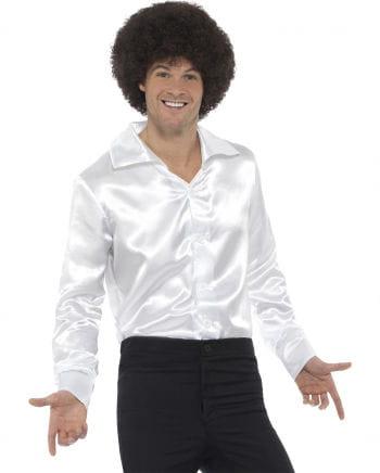 Weißes 60s Disco Hemd