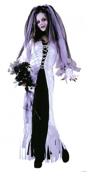 Zombie Braut Kostüm Gr. 36-38 S/M