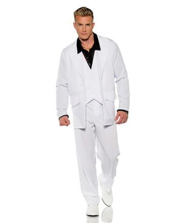 Weißer 70s Kostüm Anzug