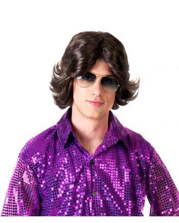 Perücke für Herren im 70er Look