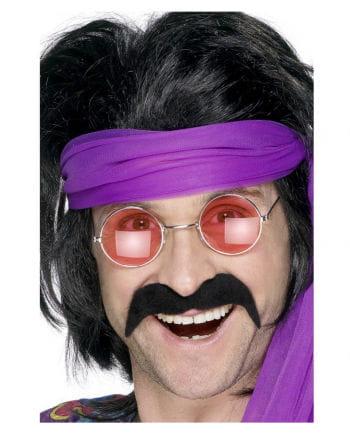70s Mustache Black