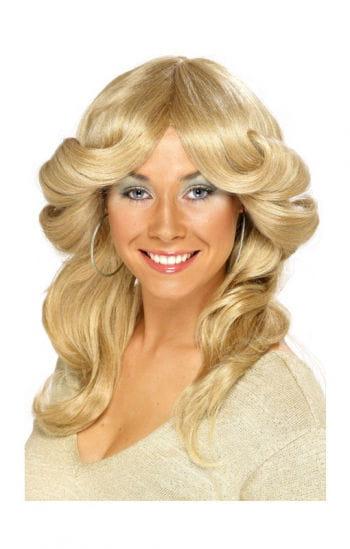 Blonde 70er Jahre Perücke