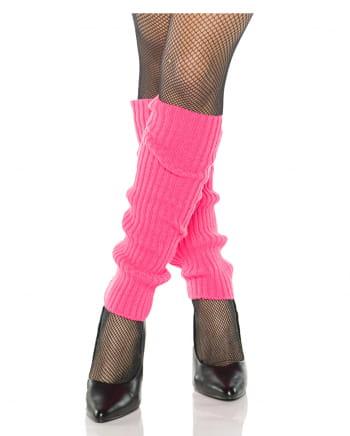 Pinke 80er Jahre Beinstulpen