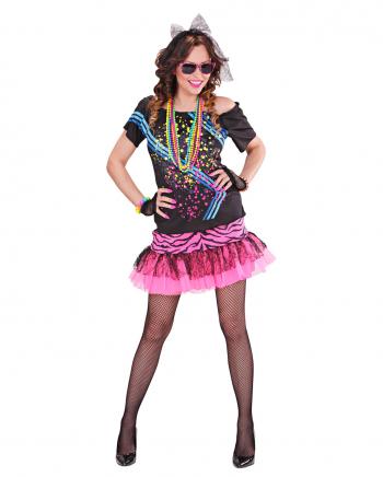 80ies Material Girl Damen Kostüm