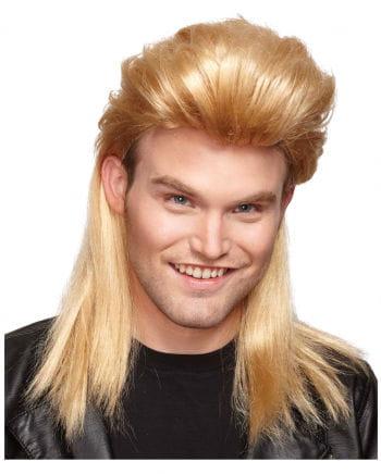 Vokuhila Perücke blond