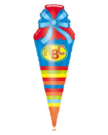 ABC School Bag Foil Balloon 111cm
