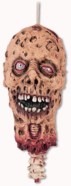 Severed Zombie Head