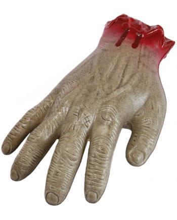 Abgetrennte Zombie Hand