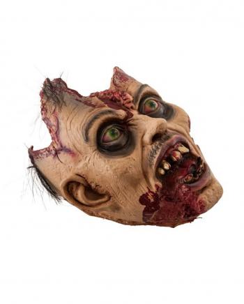 Abgetrennter Zombie Kopf Deko