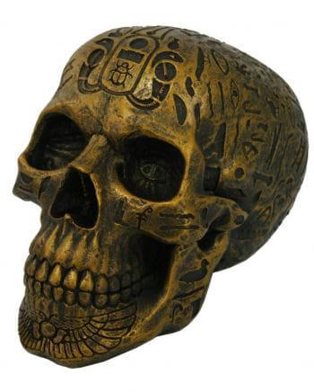 Skull With Hieroglyphics