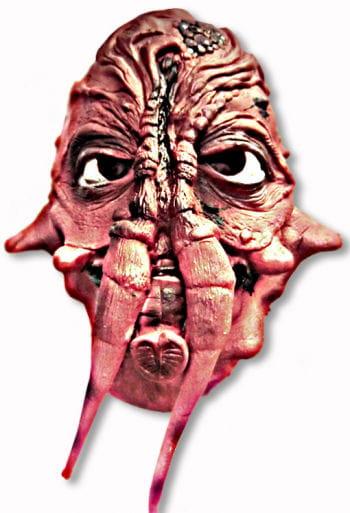 Alien mask monster red