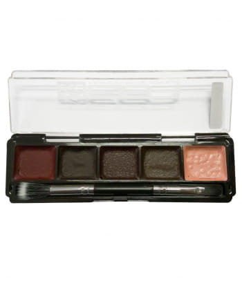 Blood SFX Waterproof Make-Up Palette 5 Colors