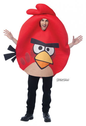 Angry Birds costume red