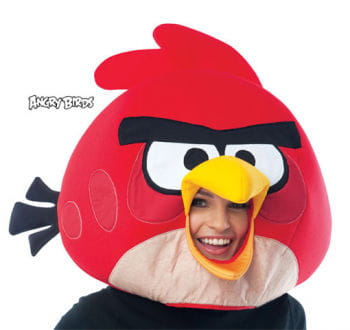 Angry Birds mask red