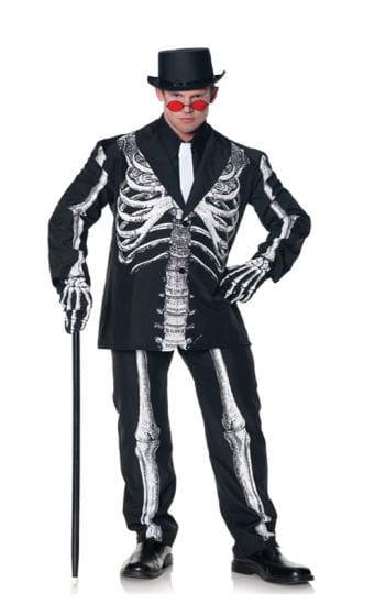 Baron Samedi Knochen Anzug XL