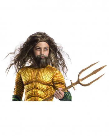 Aquaman Kinderperücke mit Bart