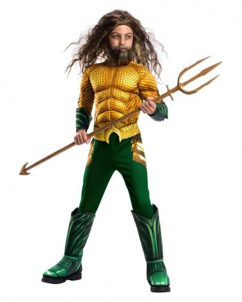 Aquaman Muskelkostüm für Kinder Deluxe