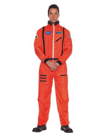 Oranger Raumfahrer Kostüm-Overall