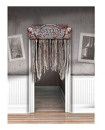 Bloody door curtain Asylum