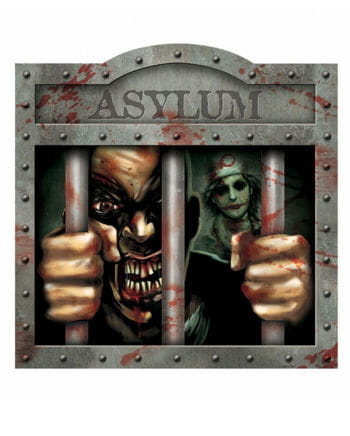 Asylum Anstalt Schild