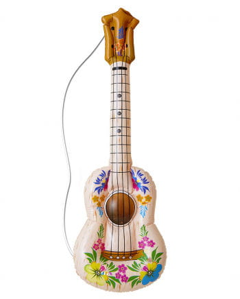 Hawaii Gitarre zum Aufblasen
