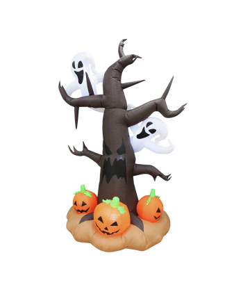 Small Ghost Tree Halloween Inflatable Figure 240cm