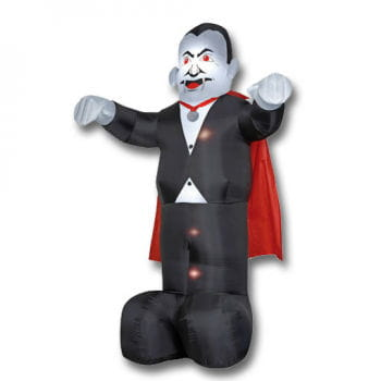 Inflatable vampire with lighting 360cm