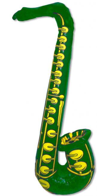Saxophon Aufblassbar grün