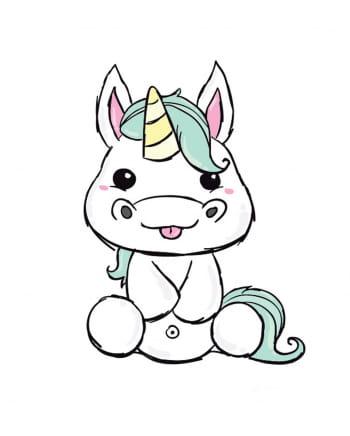 Fun Tattoo Unicorn
