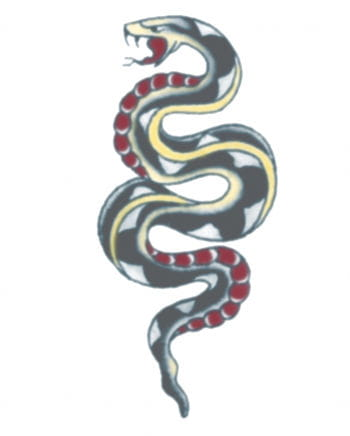Schlangen Tattoo