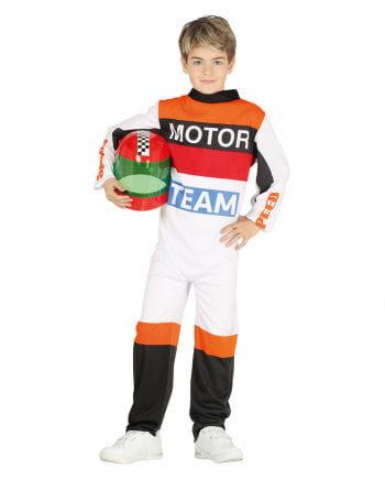 Rennfahrer Kostüm für Kinder