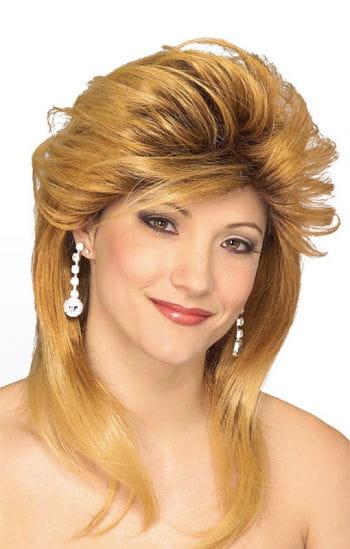 Geschäftsfrau Perücke blond