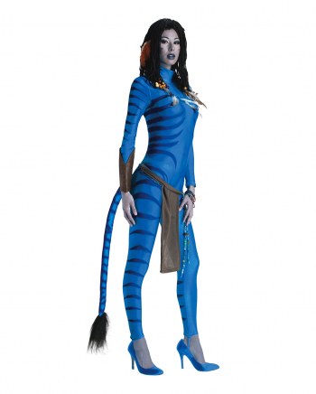 Avatar Neytiri Jumpsuit Costume For Ladies