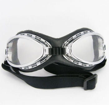 Aviator Goggles Chrome