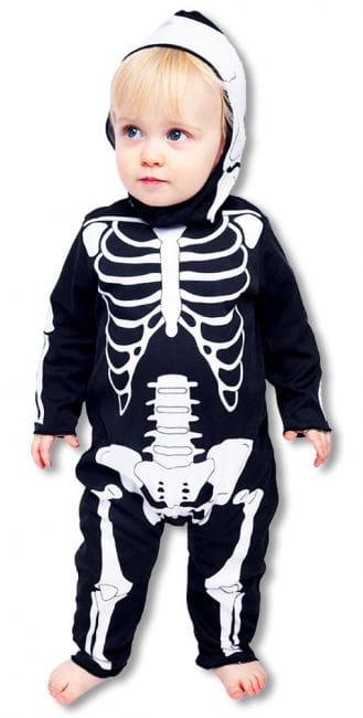 Baby Anzug Skelett