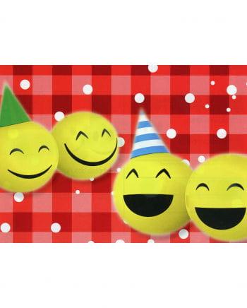 Smileys Ballon-Grußkarten