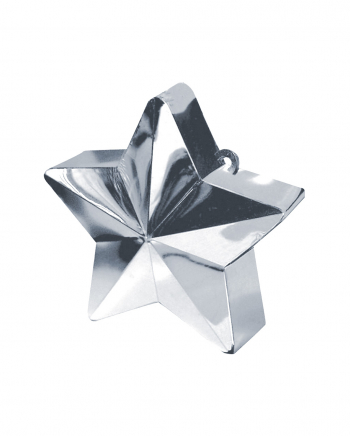 Balloon Weight Star Silver 150g