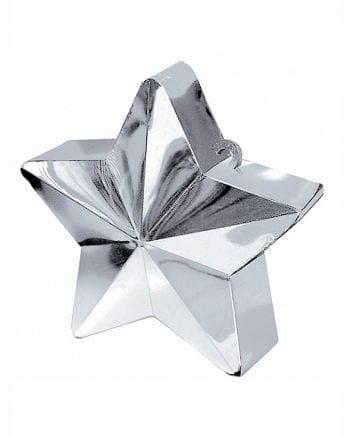 Ballogewicht Silberfarbener Stern 170g
