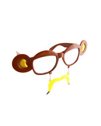Bananas Monkey Glasses Transparent