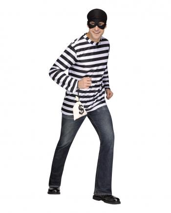 Bank Robber Costume For Men