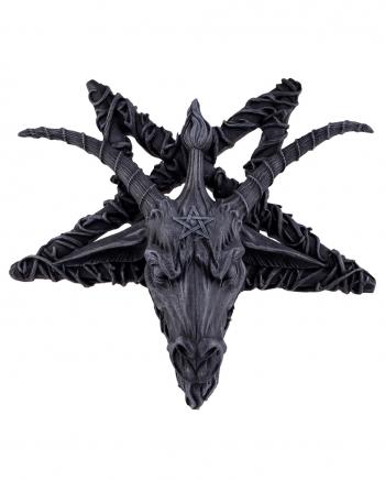 Baphomet Pentagram Relief