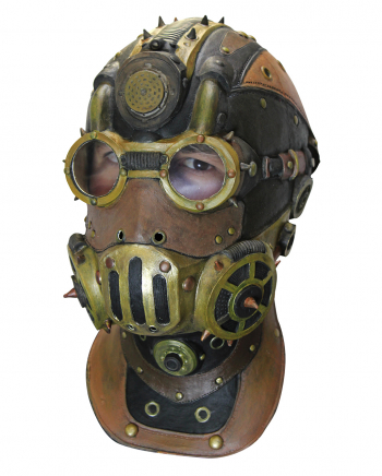 Baron Steampunk Full Head Mask