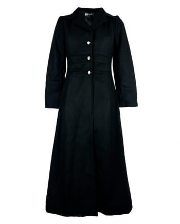 Baroness Gothic Coat Black