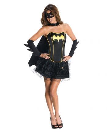 Sexy Batgirl Corsagen Kostüm