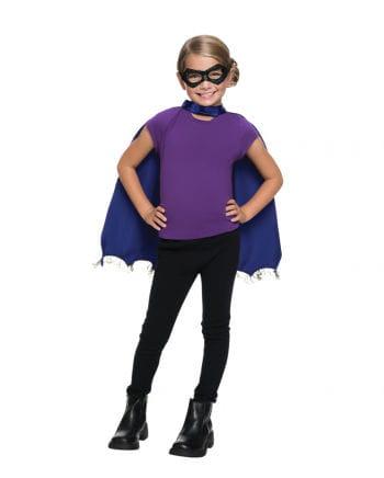 Batgirl Mask & Cape Set